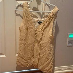Rag & Bone silk nude blouse